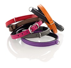Hunter Halsband für kleine Hunde Tiny Petit aus Leder