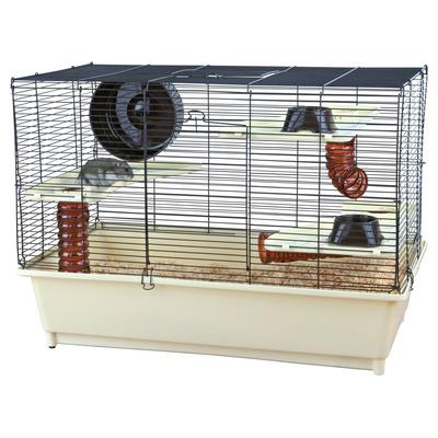 Hamsterkäfig voll ausgestattet