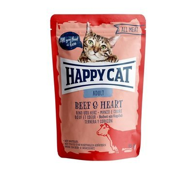 Happy Cat Pouches All Meat Adult