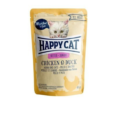 Happy Cat Pouches All Meat Junior