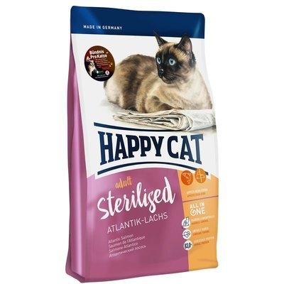 Happy Cat Supreme Sterilised Atlantik-Lachs