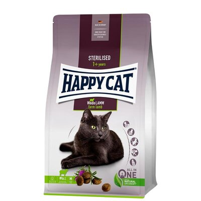 Happy Cat Supreme Sterilised Weide-Lamm