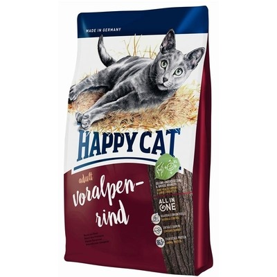Happy Cat Supreme Voralpen-Rind Katzenfutter