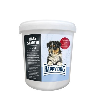 Happy Dog Supreme Baby Starter Lamm & Reis