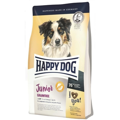 Happy Dog Supreme Young Junior Grainfree Herzkrokette, 10kg