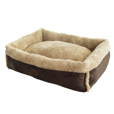 Nobby Haustier Komfort Bett eckig MIREK für Hunde und Katzen