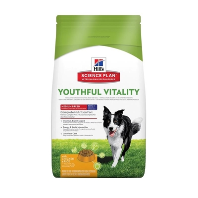 Hills Canine Adult 7+ Youthful Vitality Medium Hundefutter