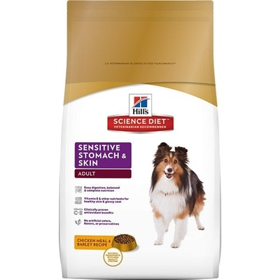 Hills Canine Adult Sensitive Stomach & Skin, 12kg
