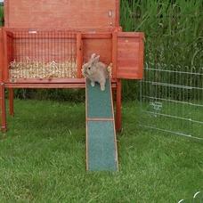 Holzrampe für Kaninchenstall