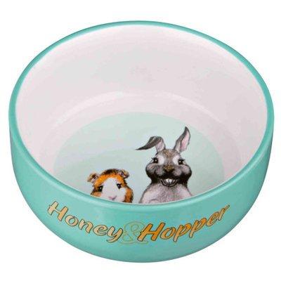 TRIXIE Honey &  Hopper Keramiknapf für Kleintiere