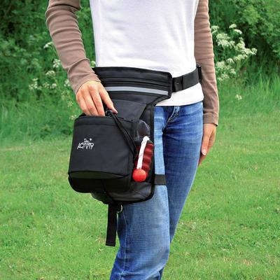 Trixie Hüfttasche mit Beingurt für Hundehalter