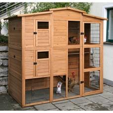 Hühnerhaus Hühnerstall XXL aus Holz