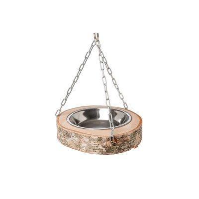 Hugro® Futterschale aus Birke für Vögel