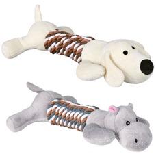 Trixie Hund Plüschtier mit Seil