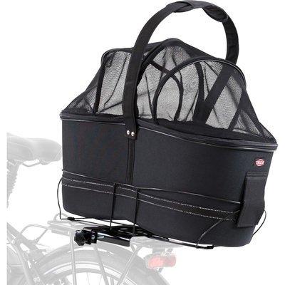 TRIXIE Hunde Fahrradkorb Long für breite Gepäckträger