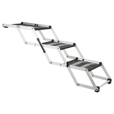 TRIXIE Hunde Falt-Treppe Petwalk aus Aluminium