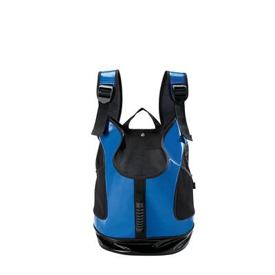 Hunde Rucksack Tragetasche Detroit, 33x20x40 cm, blau