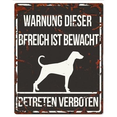 DREAM and DARE Hunde Warnschild Dalmatiner