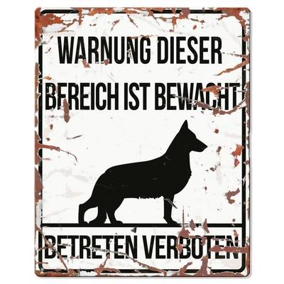 DREAM and DARE Hunde Warnschild Deutscher Schäferhund Preview Image