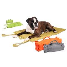 Hundedecke für Unterwegs Wave Blanket, M: 91 cm B: 58 cm grau