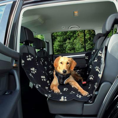 TRIXIE Hundedecke Autositz Pfotenmotiv