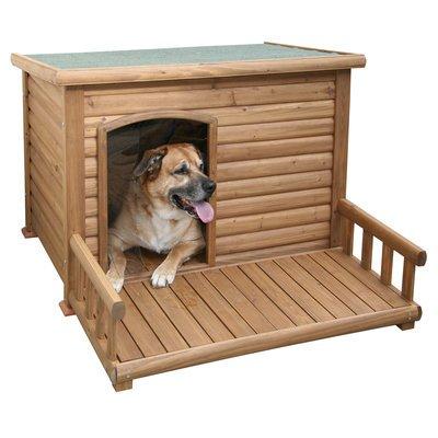 Kerbl Hundehütte mit Terrasse Preview Image