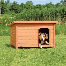 Trixie Hundehütte Natura mit Flachdach