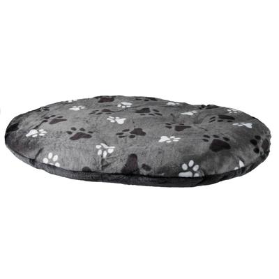 Hundekissen Gino oval, 120 × 80 cm, grau