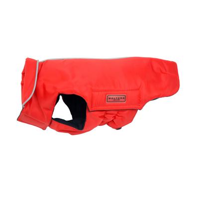 Hundemantel Outdoorjacke Jack für Mops & Co, 44cm rot
