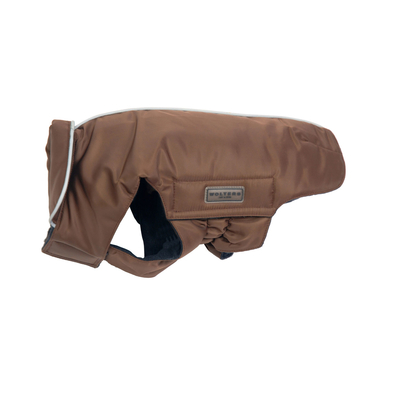 Hundemantel Outdoorjacke Jack für Mops & Co, 48cm braun