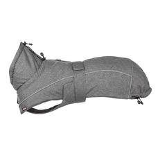 Hundemantel Prime wasserdicht mit Teflon Beschichtung, S: Brust 37?55 cm, Rückenlänge 36 cm, grau