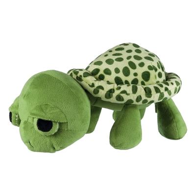 Trixie Hundespielzeug Plüsch Schildkröte, Original-Tierstimme XL