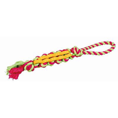 TRIXIE Hundespielzeug Twisted Stick mit Tau Preview Image