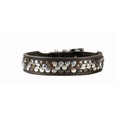 Hunter Arizona Halsband, 60: Hals 47,0 ? 54,0 cm, Breite 3,9 cm, braun