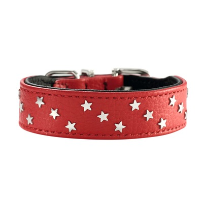 HUNTER Halsband Capri Mini Stars, 42, rot