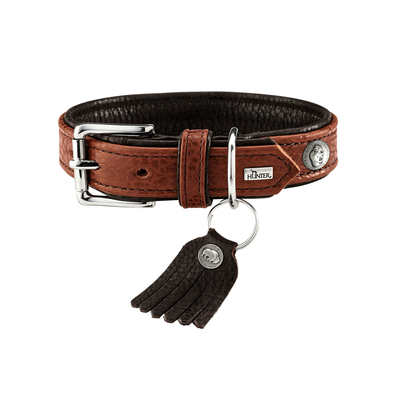 Hunter Halsband Cody Bisonleder
