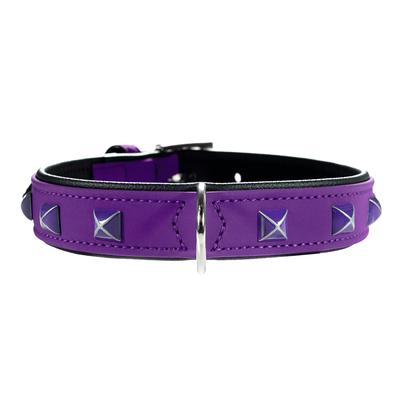 Hunter Halsband Softie Kairo, 55, violett/schwarz