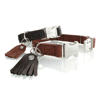 Hunter Halsung Cody Alu-Strong Bison Leder