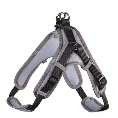 Hunter Hundegeschirr Neopren Vario Quick, M 55-70 cm, 15 mm, schwarz