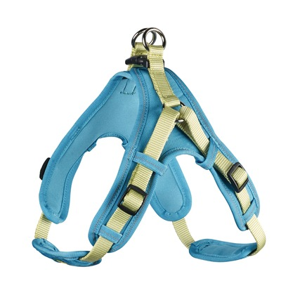 Hunter Hundegeschirr Neopren Vario Quick, XS, 38-45 cm, 15 mm, hellgrün