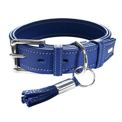 HUNTER Hundehalsband Cannes, 45, blau