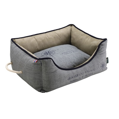 Hunter Hundesofa List, 100x70 cm, grau