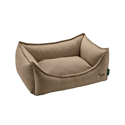 Hunter Hundesofa Livingston, S, 60 x 43 x 16 cm, braun
