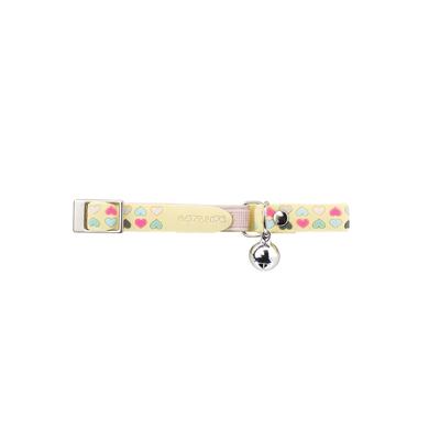 Hunter Katzenhalsband Siena elastisch, gelb