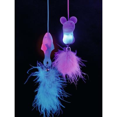 Hunter Katzenspielzeug Famy leuchtend, 43 cm, rosa