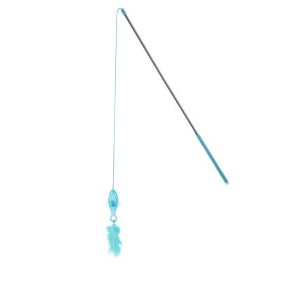 Hunter Katzenspielzeug Famy leuchtend, 43 cm, hellblau