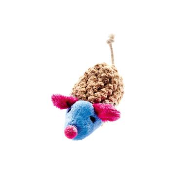 Hunter Katzenspielzeug Mamou, Maus hellblau, 9 cm