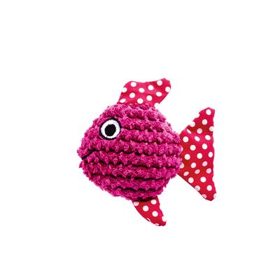 Hunter Katzenspielzeug Mamou, Fisch pink, 10 cm