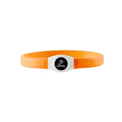 Hunter LED Silikon Leuchtschlauch Yukon für Hunde, extra breit