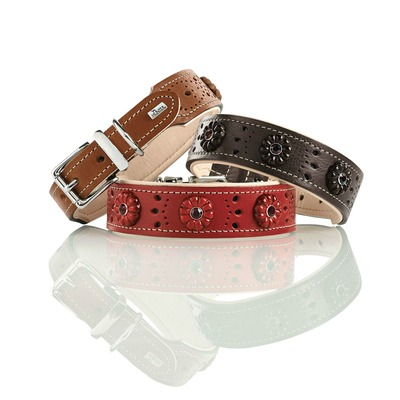 Hunter Leder Halsband Virginia Rose